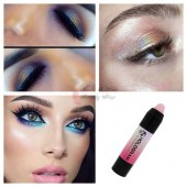 HOLOGRAM 3D EYESHADOW STICK PINK
