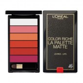 L'Oreal Color Riche Lip palette Bold Matte