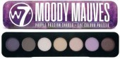 W7 Moody Mauves Eye Colour Palette (7gr)